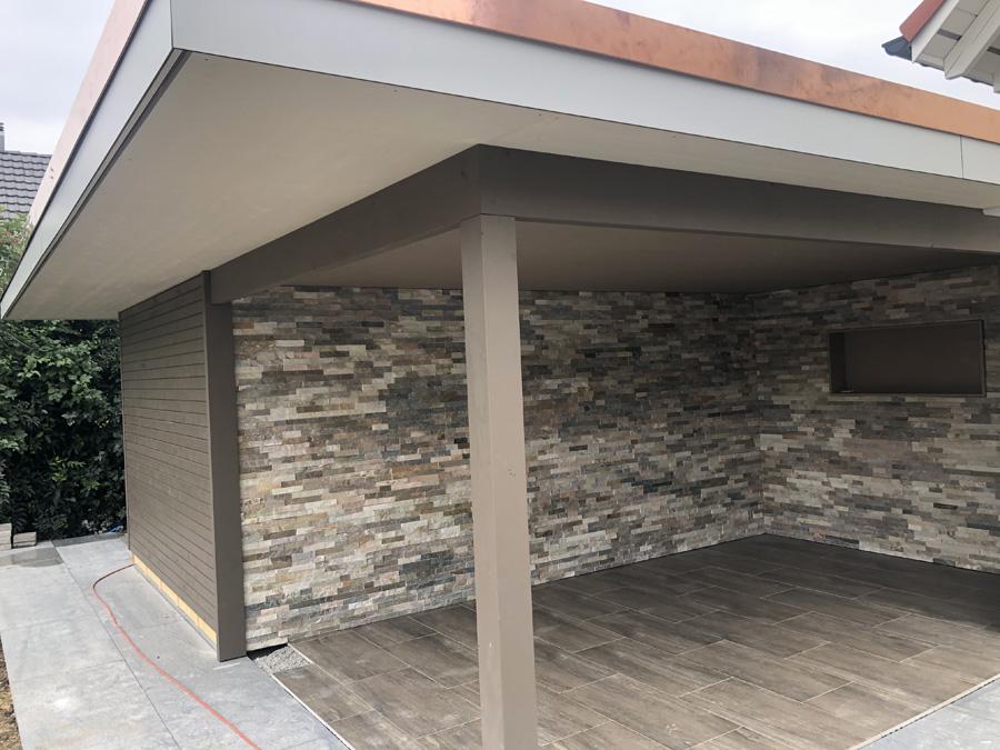 Anbau Lounge von vorne
