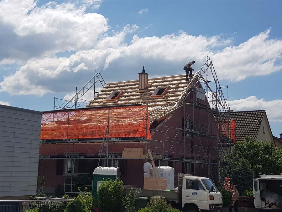 Sommerhalder Umbau Dach